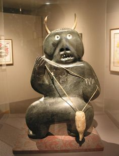 Inuit shamanism This art is not art for art, rather it is art for survival for it gives structure and coherence to the unfathomable and intangible.