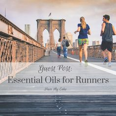 Essential Oils for Runners {Guest Post}