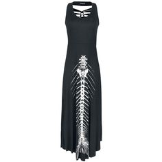 Vestido Mermaid Fishbone