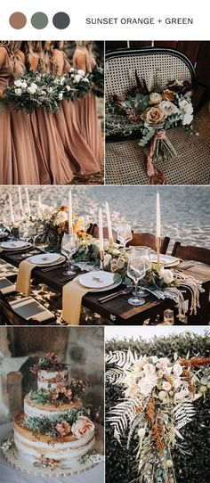 Top 9 fall wedding color schemes for 2019 – sunset orange and sage wedding, wedding bouquets, rustic wedding cakes, bridesmaid dresses, wedding centerpieces Source by lyemic … Fall Wedding Centerpieces, Wedding Bouquets, Wedding Flowers, Wedding Decorations, Wedding Cakes, Wedding Greenery, Wedding Favors, Wedding Napkins, Wedding Dresses
