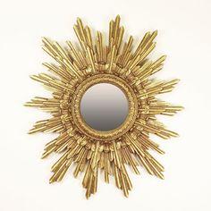 Resultado de imagem para espelho sol Sunburst Mirror, Home Decor, Mirrors, Sun, Decoration Home, Room Decor, Home Interior Design, Home Decoration, Interior Design