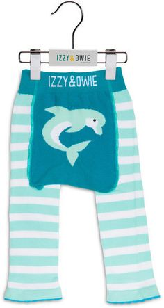 Blue Dolphin Boys Legging by Izzy & Owie - Giggles Gear