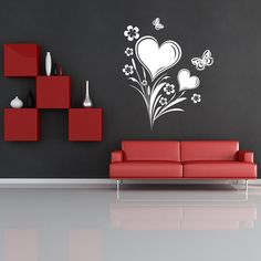 Superb Wall Painting Designs For Bedrooms Ideas: Love Wall Painting .