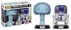 "Funko's first round of exclusives for San Diego Comic Con 2017 come from a galaxy far, far away!From recent fan favorites Bodhi Rook, Combat Assault Tank Trooper, and 6-inch holographic Snoke to the timeless pairing of R2-D2 with holographic Princess Leia, these figures are essential for every Star Wars fan! Pop! Star Wars: Rogue One - Bodhi RookPop! Star Wars: Rogue One - Combat Assault Tank TrooperPop! Star Wars: 6"" Supreme Leader Snoke (Glow-in-the-Dark)Pop! Star Wars: Holographic..."