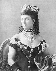 1887 retrato Alexandra Jubilee por Bassano