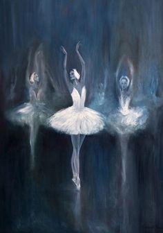 'Swan Lake' by Salavat Fidai, Musetouch.