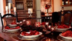 Glowing Thanksgiving centerpiece! #PartyLite : Shop online at www.PartyLite.biz/NikkiHendrix