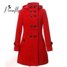2016 kadın Kış ceket Yün Kadın Coat Slim Uzun Blend pamuk Giyim manteau femme palto manto cloak casacos feminino(China (Mainland))