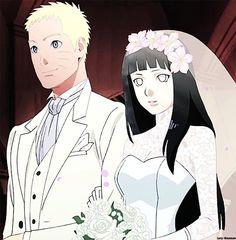 Naruto and Hinata Wedding♥♥♥ Naruto Minato, Hinata Hyuga, Anime Naruto, Naruto Uzumaki Shippuden, Sarada Uchiha, Naruto Art, Uzumaki Family, Naruto Family, Naruto Couples