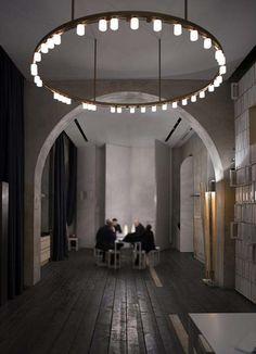 Modern Gothic Chandelier by David Chippendfield Gothic Chandelier, Modern Chandelier, Chandelier Lighting, Modern Lighting, Lighting Design, Pendant Chandelier, Candle Lighting, Luxury Lighting, Ceiling Lighting
