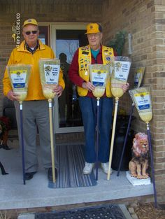 Berea Lions Club, Berea, KY, USA, are selling brooms as a fundraiser. We are determined to sweep out negativity in our area!