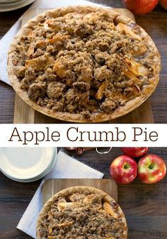 So, I'm not much for making pie crusts. I'm just not very good with them. I need to take some lessons from my mom because she makes a mean pie crust. Until then, though, I'm sharing Apple Crumb Pie recipe, and I hope you'll forgive me for not sharing a pie crust recipe along with …