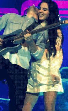 Her guitarist is hella hot