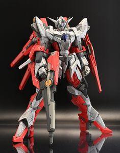 "Custom Build: HG 1/144 Reborns Gundam ""Prototype"" - Gundam Kits Collection News and Reviews Gundam Toys, Gundam 00, Gundam Wing, Mecha Suit, Gundam Wallpapers, Gundam Mobile Suit, Frame Arms Girl, Gundam Custom Build, Gunpla Custom"