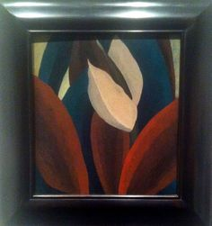 Helen Torr, crimson and green leaves, 1927