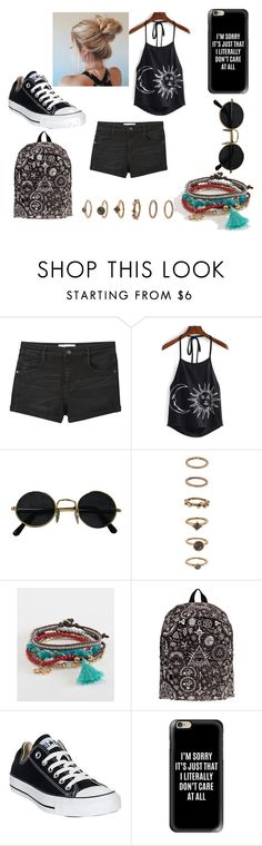 """""""MY SUMMER"""" by eleonora199 on Polyvore featuring MANGO, Forever 21, Aéropostale, Converse and Casetify"""