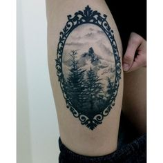 (25) 1337tattoos Black tusk mountain, whistler BC. by Spencer Kymta... ❤ liked on Polyvore featuring accessories