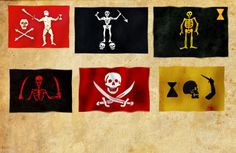 Jolly Rogers II Pirate Flags, Jolly Roger, Pirates, Sea, Inspiration, Biblical Inspiration, Ocean, Inhalation