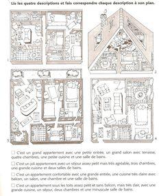 Francês Língua Estrangeira - A1: Casa