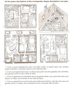 Français Langue Étrangère - A1: maison                                                                                                                                                      Mais