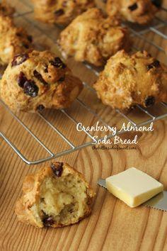 Cranberry Almond Soda Bread Recipe (Luck of the Irish Week) - theBitterSideofSweet