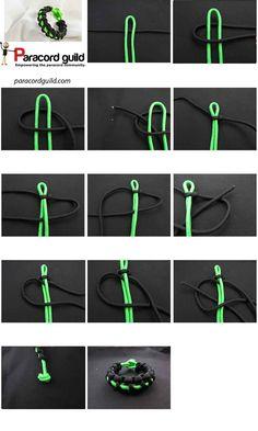 Thin line paracord bracelet - Paracord guild