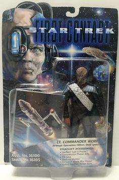 Action Figure Stark Trek First Contact Beverly Crusher on Card Playmates 1996 Star Trek Borg, Star Wars, Beverly Crusher, Star Trek Models, Stark Trek, Deanna Troi, Star Trek Collectibles, Sideshow Collectibles, Toys