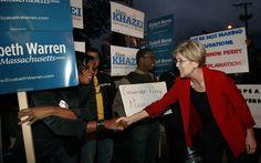 Scott Brown, Elizabeth Warren pledge to curb outside campaign spending (2012)