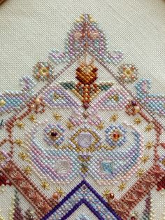 detail Taj Mahal Garden (helen_orlova) Tags: mandala chatelaine xstitching