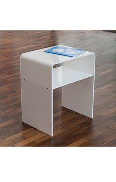 White Side Table For Living Room The Cute Tiny Chest Remotes And Pocket Books
