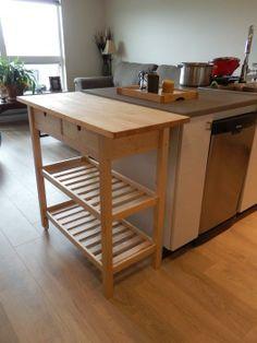 $75·Ikea Kitchen Cart
