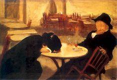 Wojciech Weiss - Demon (W kawiarni), 1904