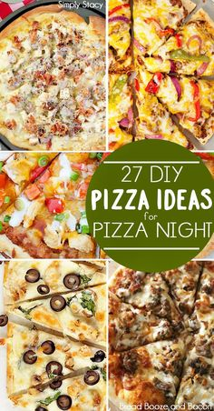 27 DIY Pizza Ideas for Pizza Night!