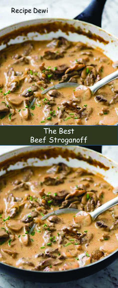 Tasty beef stroganoff recipe brandy just on food factory zone recipes ideas Tasty Beef Stroganoff Rezept Brandy nur auf Food Factory Zone Rezeptideen Ground Beef Stroganoff, Crockpot Beef Stroganoff Recipe, Crock Pot Stroganoff, Best Beef Stroganoff, Homemade Beef Stroganoff, Campbells Beef Stroganoff, Mushroom Stroganoff, Zone Recipes, Beef Recipes
