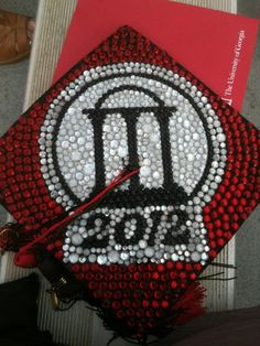 Cute mortarboard from 2012 UGA Commencement.  Back in the day, who knew?