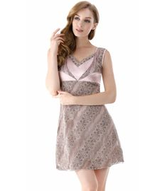 Clever Bnwt Rosie For Autograph Oyster Pure Silk Chemise 10 Rrp £55 Lace New Gift Other Women's Intimates