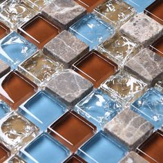 Stone Glass Mosaic are impervious to the elements, thus it is great for both interior and exterior use so moisture is not an issue. Stone Glass Mosaic are great on floors and walls and have been most popular in bathrooms, spas, kitchen backsplash, wall facades and pools as well as a variety of other applications.