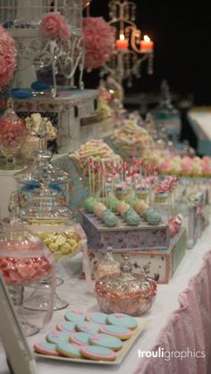 Cute party candy bar.