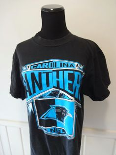 Vintage Carolina Panthers TShirt 1994 by WylieOwlVintage on Etsy 76d3156f5