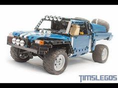 LEGO Technic Baja Racing Buggy - YouTube