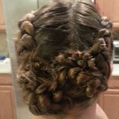 Photo by blazesymone katniss braid updo