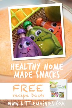 Mango puree like apple sauce tastes delicious for kids of all ages! Recipe and healthy snack ideas from https://www.amazon.com/Little-Mashies/pages/12665873011  #babyfood #storage #kids #healthy #snacks  FREE ebook from littlemashies.com/free
