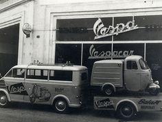 DKW Schnellaster and Vespacar, Vespa Ape.