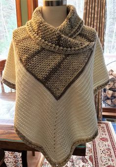 Welcome to the first in our poncho series. With the weather getting colder, it's time to break out your hooks and yarn to make this gorgeous poncho by Merri Purdy. It's in 2 parts and i…