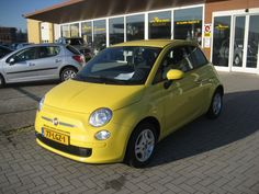 Is yellow your cup of tea? Fiat 500, Yellow Car, Car Makes, Car Car, Jeep Wrangler, Luigi, Euro, Volkswagen, Plate