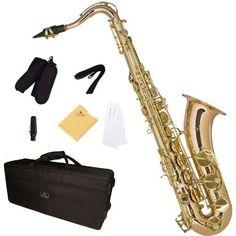 Cecilio TS-380 Tenor Saxophone - Gold Bb