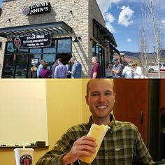 Our favorite office lunch spot is having a customer appreciation day today, $1 subs! So naturally, we all got one. Thanks Jimmy Johns!  #parkcity #utah #jimmyjohns #customerappreciation #advertisingagency #adagency #agencylife #agency #marketingdigital #marketingagency #marketing #socialstrategy #socialmediastrategy