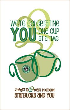 Starbucks poster for Oregon