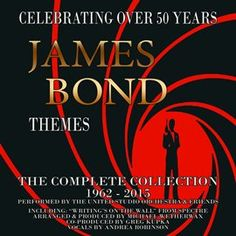 (Music - Rent for 7 days) James Bond Themes: The Complete Collection 1962-2015 / The WaxTrax Orchestra