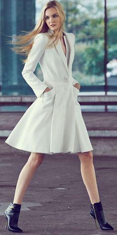 Alexander McQueen Coat Dress.
